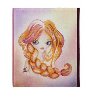 Caja del folio del iPad de los géminis