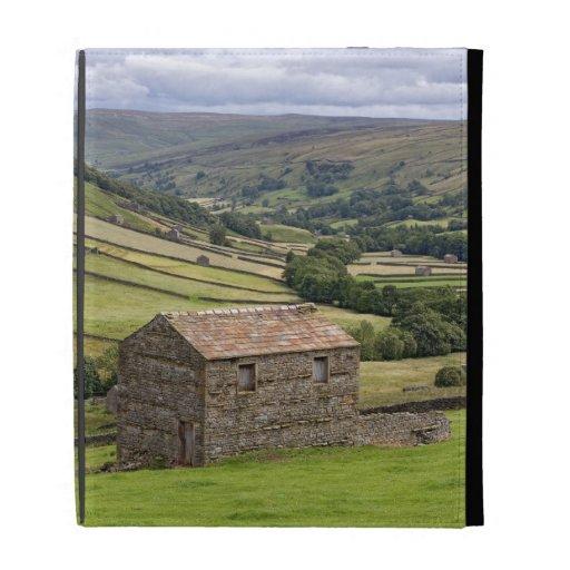 Caja del folio del iPad de los valles de Yorkshire