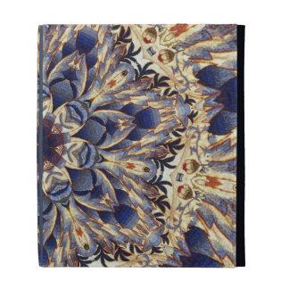 Caja del folio del iPad del extracto de la tapicer
