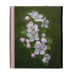 Caja del folio del iPad del flor del Malus