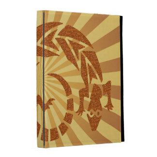 Caja del folio del iPad del Gecko