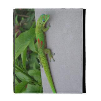 Caja del folio del iPad del Gecko del día del polv