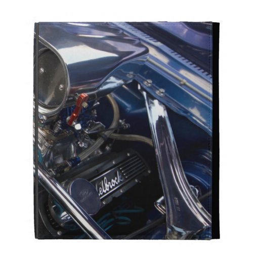 Caja del folio del iPad del motor
