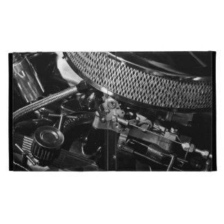 Caja del folio del iPad del motor de coche