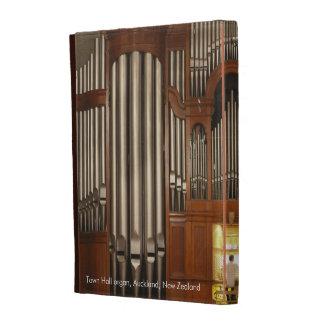 Caja del folio del iPad del órgano de Auckland (su