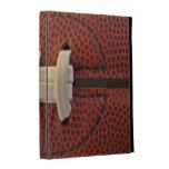 caja del folio del iPad - los cordones del fútbol