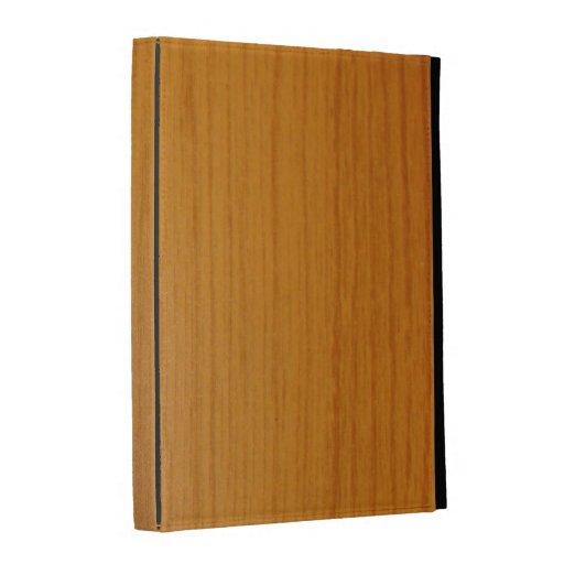 caja del folio del iPad - maderas - ajuste de made