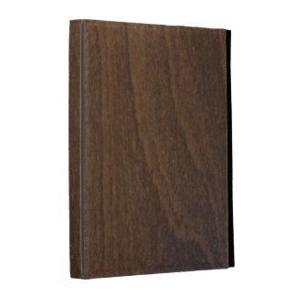 caja del folio del iPad - maderas - nuez