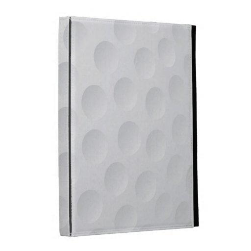 caja del folio del iPad - pelota de golf