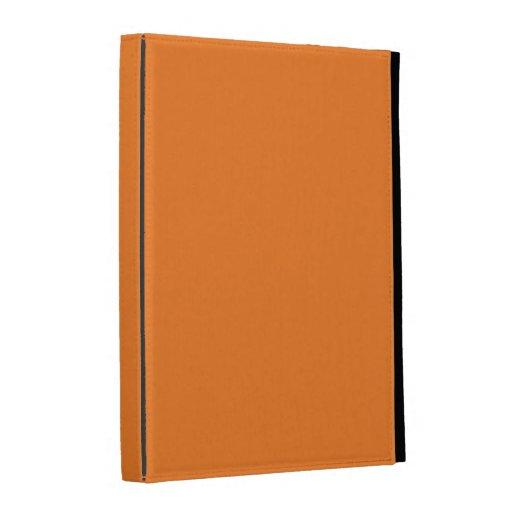 caja del folio del iPad - sólido - naranja