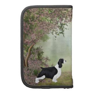 Caja del folio del perro de aguas de saltador planificadores