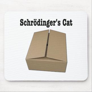 Caja del gato de Schrodinger Alfombrilla De Ratones