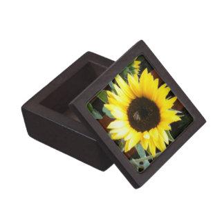 Caja del girasol cajas de joyas de calidad