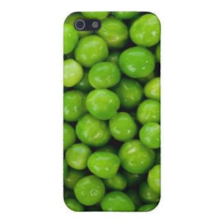 Caja del guisante verde iPhone 5 carcasas