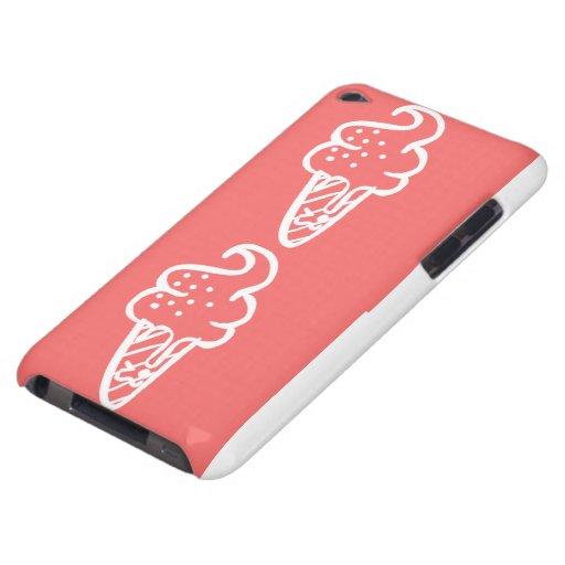 Caja del helado de Kawaii iPod Touch Case-Mate Cobertura