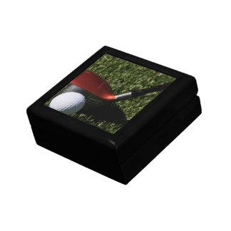 Caja del hierro del golf y de regalo de la bola caja de regalo