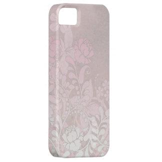 Caja del iPhone del rosa color de rosa que sube Funda Para iPhone 5 Barely There