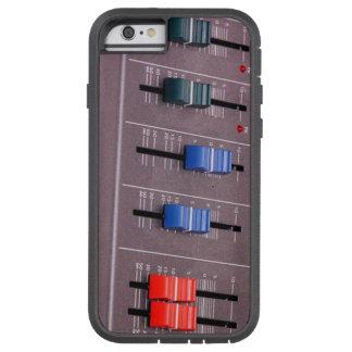 Caja del mezclador de la música funda tough xtreme iPhone 6