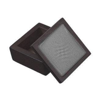 Caja del moaré cajas de joyas de calidad