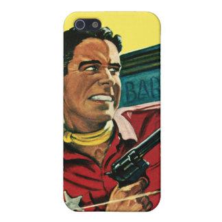 Caja del oeste de la mota del iPhone del sheriff iPhone 5 Carcasa