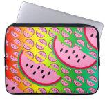 Caja del ordenador portátil de la manía del melón funda computadora