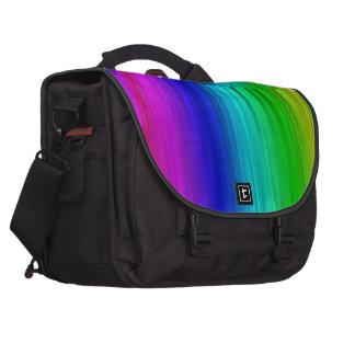 caja del ordenador portátil del arco iris bolsas para portátil