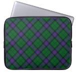 Caja del ordenador portátil del tartán de Armstron Funda Ordendadores