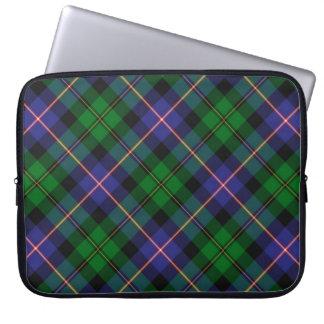 Caja del ordenador portátil del tartán de MacNeil Funda Portátil