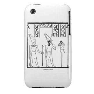 Caja del panel de Egipto Funda Bareyly There Para iPhone 3 De Case-Mate