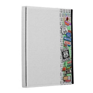 CAJA del PANEL TÁCTIL del iPad de la RUTA 66 por