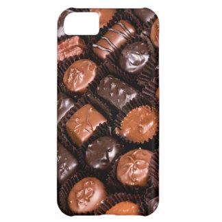 Caja del placer de los amantes del chocolate de carcasa iPhone 5C