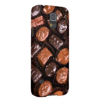 Caja del placer de los amantes del chocolate de funda para galaxy s5