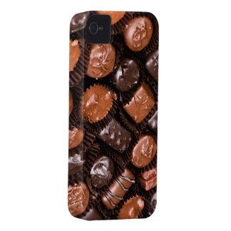 Caja del placer de los amantes del chocolate de funda para iPhone 4