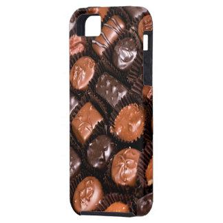 Caja del placer de los amantes del chocolate de funda para iPhone SE/5/5s