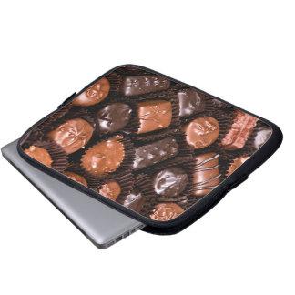 Caja del placer de los amantes del chocolate de funda para portátil