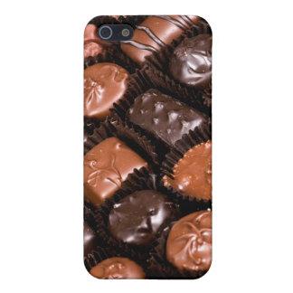 Caja del placer de los amantes del chocolate de iPhone 5 fundas