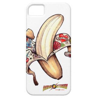 caja del plátano de iPhone5 Hannah iPhone 5 Cárcasa