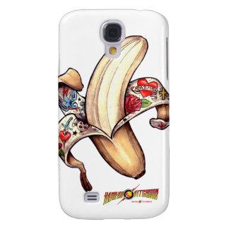 Caja del plátano de la galaxia S4 de Samsun Funda Para Galaxy S4
