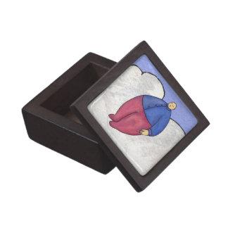 Caja del premio del hombre del globo caja de regalo de calidad