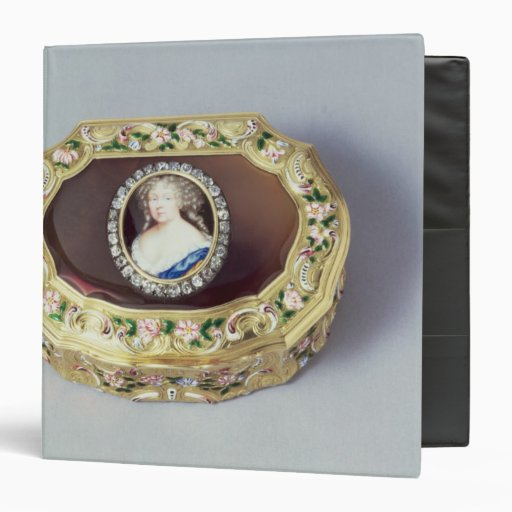 Caja del rape del óvalo de Louix XV