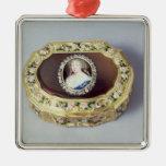 Caja del rape del óvalo de Louix XV Adorno De Reyes