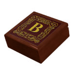 """Caja del recuerdo - """"B Dragón-Enmarcado Celtic """" Cajas De Regalo"""