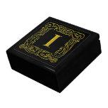 """Caja del recuerdo - Celtic Dragón-Enmarcado """"yo """" Cajas De Recuerdo"""