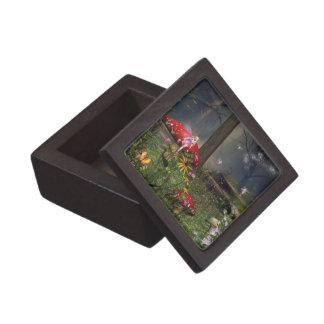 Caja del recuerdo de la baratija de la joyería del caja de joyas de calidad