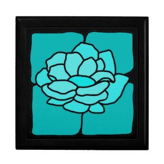 Caja del recuerdo de la joyería de Lilly del agua  Caja De Recuerdo