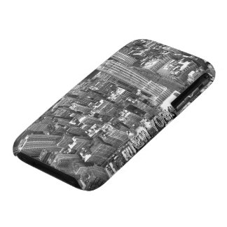 Caja del recuerdo de New York City del caso de Nue iPhone 3 Fundas