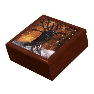 Caja del recuerdo de Wintertree 3 Caja De Joyas