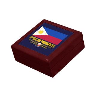 """Caja del recuerdo del """"orgullo filipino"""" cajas de recuerdo"""