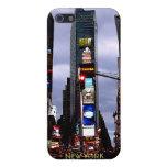 Caja del recuerdo del Times Square del caso del iP iPhone 5 Cárcasa