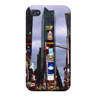 Caja del recuerdo del Times Square del caso del iP iPhone 4/4S Funda